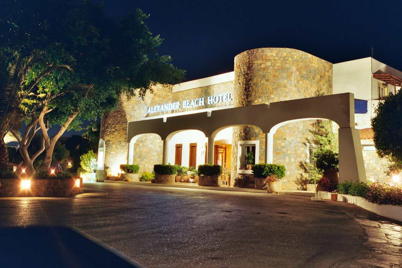 Hotel Alexander Beach Kreta Bilder